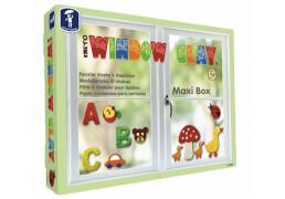 Kneto Window Clay Fensterknete Maxi Box, ab 3 Jahre