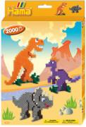 HAMA kleine Geschenkpackung Dino Welt, 2.000 Stück