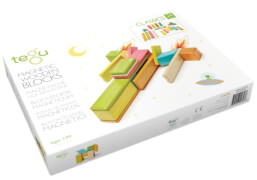 Tegu - Magnetisches Holzset farbig 24 Teile