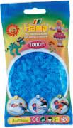 HAMA Bügelperlen Midi - Transparent Aqua Blau 1000 Perlen