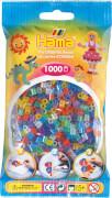 HAMA Bügelperlen Midi - Transparent Glitter Mix 1000 Perlen