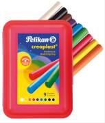 Knetmasse Creaplast Kinderknete 198/14 rot, 9 Farben, 330g