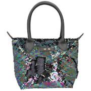 Depesche 10212 Trend LOVE Handtasche Paillette schwarz