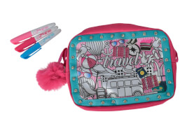 Simba Color Me Mine - Tasche ''Glitter Couture TravEvi Love Bag'', ab 3 Jahre