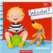Coppenrath Verlag 962700 Buch ''Windel? Brauch ich nicht!'' (Pappe), 16 Seiten, ab 24 Monaten