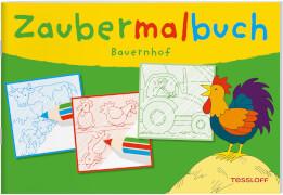 Zaubermalbuch Bauernhof, Taschenbuch, 32 Seiten, ab 3 Jahren