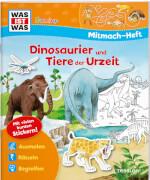 WAS IST WAS Mitmach-Heft, Dinosaurier und Tiere der Urzeit, Taschenbuch, 24 Seiten, ab 4 Jahren