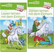 miniLÜK-Set Zählen und Lesen lernen mit dem Einhorn