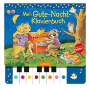 Ars Edition - Gute-Nacht-Klavierbuch, Pappbilderbuch, 22 Seiten, ab 3-6 Jahren