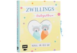 Zwillings-Babyalbum # Hurra, ihr seid da!