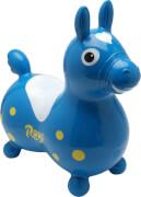 Jakobs 4019961 - Hüpfpferd Rody, blau, ca. 54 cm, ab 3 Jahren