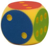 Soft-Partywürfel farbig sort. ca.16cm