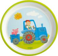 HABA - Teller Traktor, # 18 cm