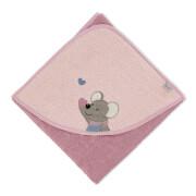 Sterntaler Badetuch 80x80 Mabel rosa