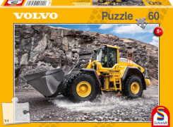 Schmidt Puzzle 56284 Baufahrzeuge Volvo L150H, 60 Teile, ab 5 Jahre