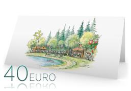 €40,- Gutscheinkarte von A&E WiRTH Der Kinderladen