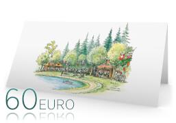 €60,- Gutscheinkarte von A&E WiRTH Der Kinderladen